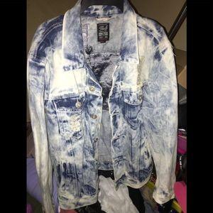 Jackets & Blazers - Funky Distressed Jean Jacket